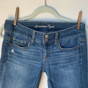 American Eagle Size 0 Bootleg Jeans